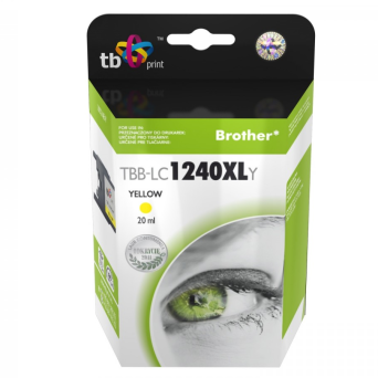 Tusz do Brother LC1240XL TBB-LC1240XLY YE | 5901500501576