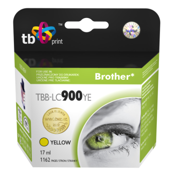 Tusz do Brother LC900 TBB-LC900YE YE 100% nowy | 5901500500418