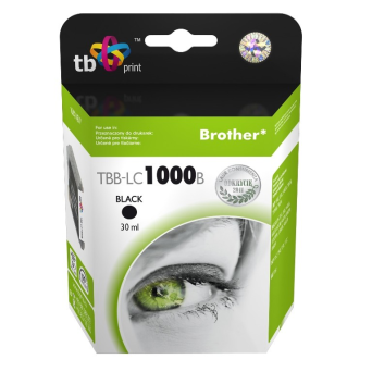 Tusz do Brother LC1000BK TBB-LC1000B BK 100% nowy | 5901500500302