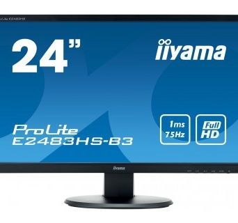 24'' E2483HS-B3 HDMI,DP,TN,FHD,2x1W,1ms | 4948570115631