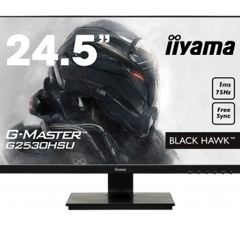 24,5''G2530HSU-B1 TN,FHD 75Hz,1MS,HDMI,DP,USB. | 4948570115433