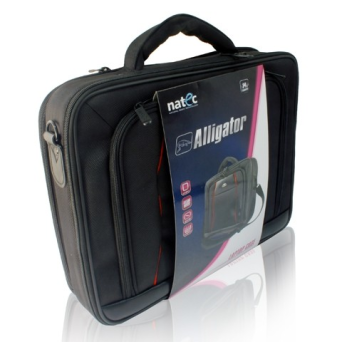 "TORBA DO LAPTOPA ALLIGATOR BLACK 15.4""/15.6"" 